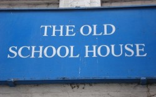 Old School House Sign