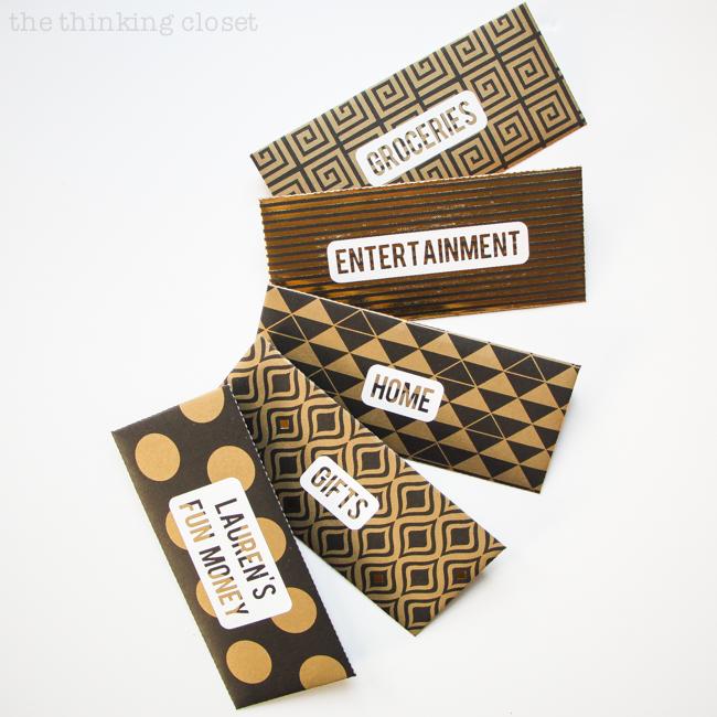 diy cash budget envelopes