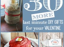 30 Last Minute DIY Gifts for Your Valentine - the thinking ...