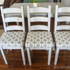 Dining Chair Upholstery Spandex Covers Aliexpress How To Reupholster A Seat The No Mess Method Thinking Diy Tutorial Full Of Tips And Tricks