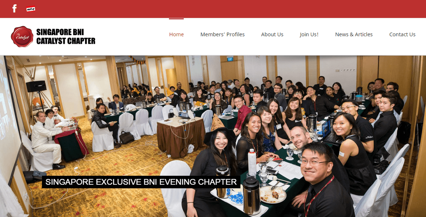Thinking Notes Projects Showcase - BNI Catalyst Website