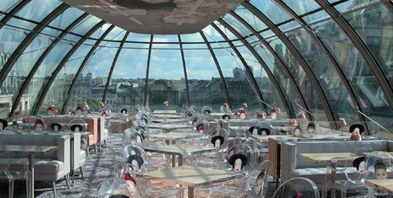 Top floor dining room at Kong.