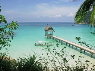 Jetty on Perhentian Islands, Malaysia