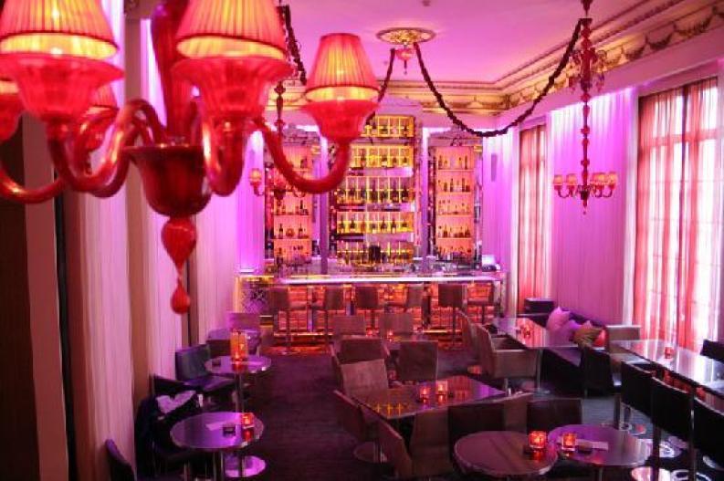 Pershing Hall Bar.