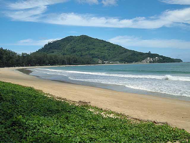 This is Nai Yang Beachon Phuket in July.