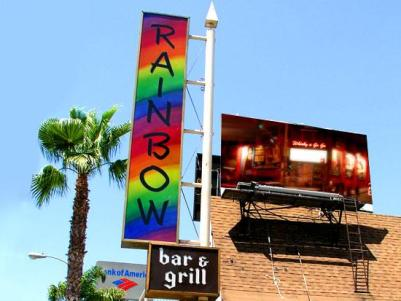 Rainbow Bar & Grill in Hollywood aka Rainbow Room.
