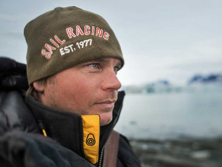 Martin Enckell - expedition leader in the Polar Regions.