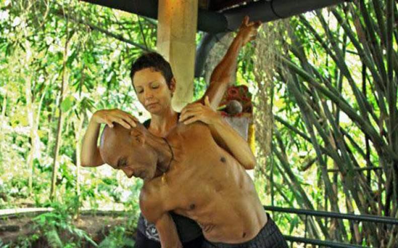 Dr Laina Healing practitioner at Taksu in Ubud, Bali.
