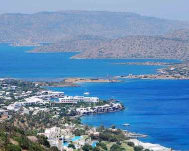 Elounda on Crete, Greece.
