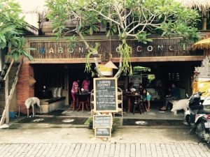 Warung Coconut just outside Ubud, Bali.