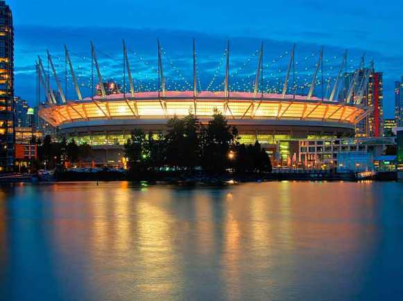 BC Place on opening day 2011.