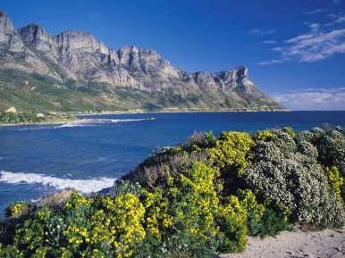 Bay around Cape Town.