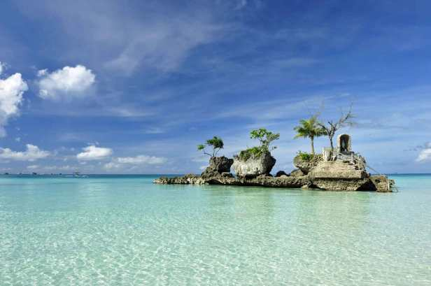 Boracay is famous for its crystal clear water and pristine beaches.