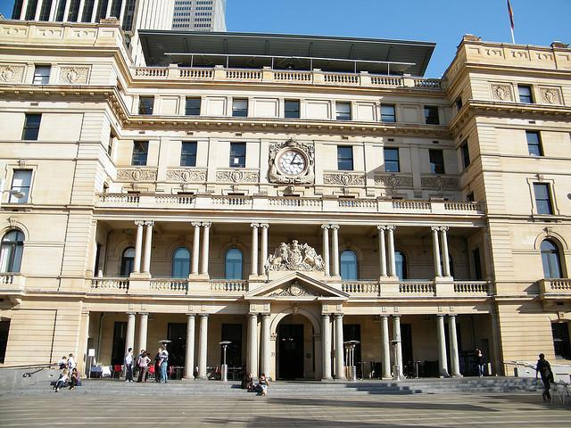 Customs House in Sydney.