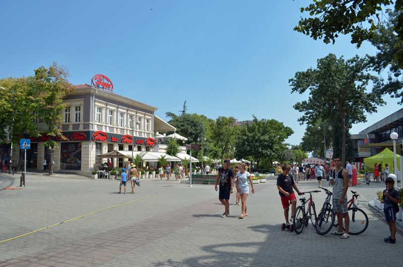 Sevastopol Square in Varna.