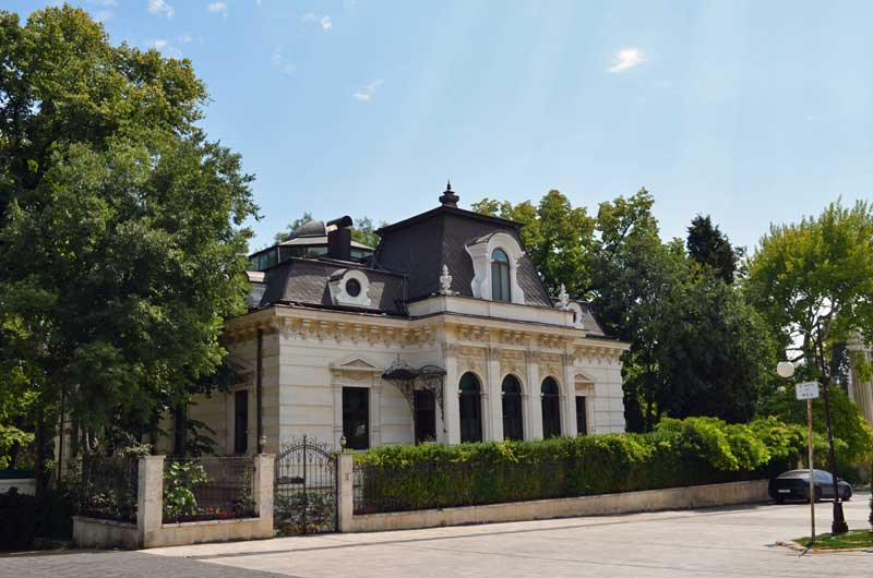 The house of Anton Novak in Varna, Bulgaria.