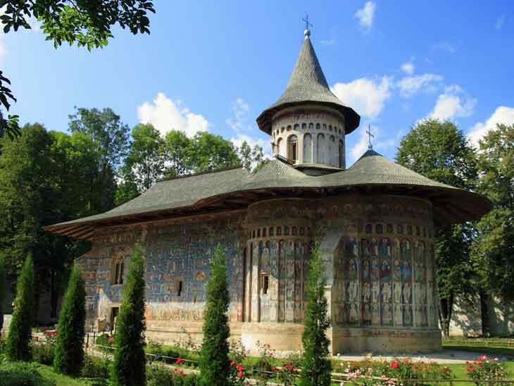 Bucovina Painted Monasteries in Bucharest.