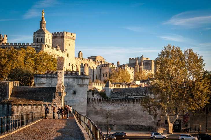 Beautiful Avignon.