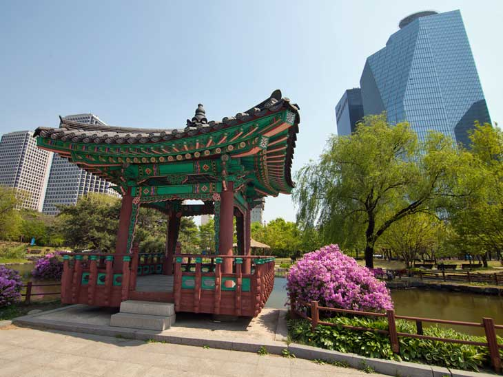 Park in Seoul.