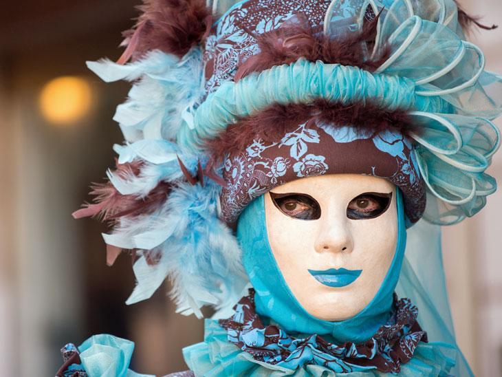 Carneval in Venice.