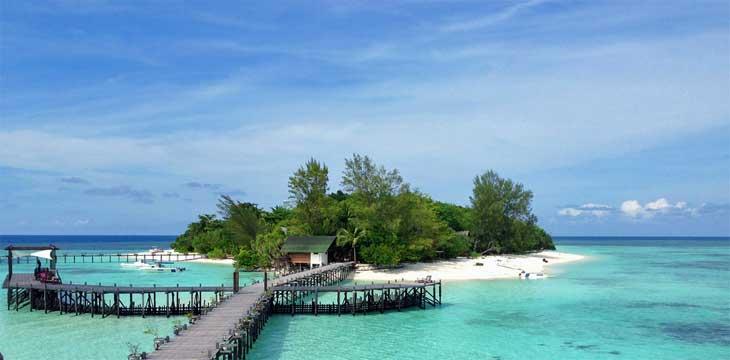 Lankayan Island in Malaysia.