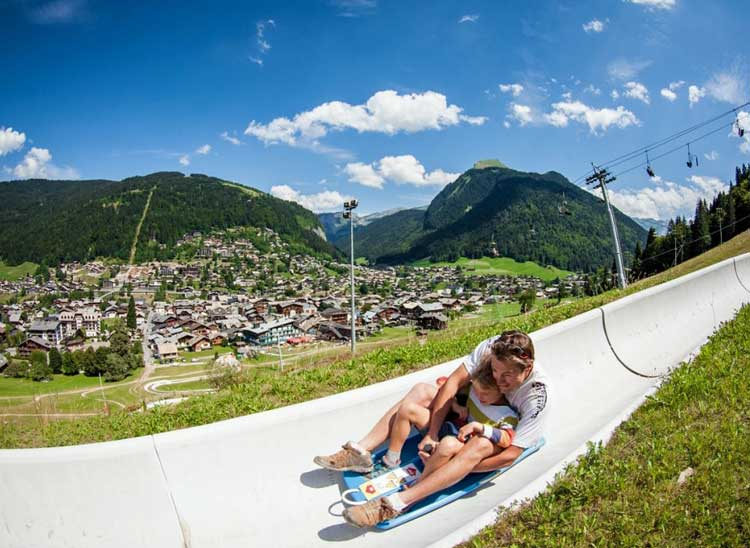 Morzine is fun in the summer too.