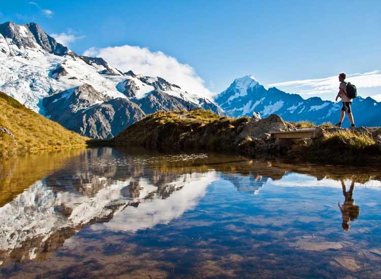 Scenic New Zealand.