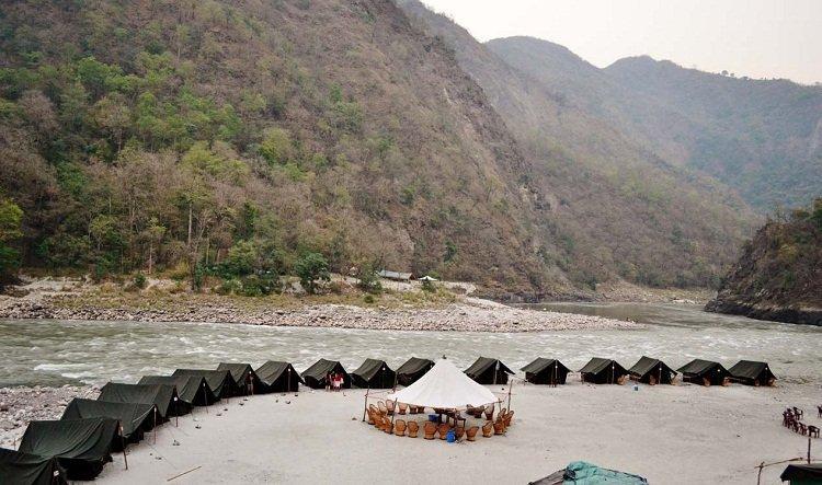 Rishikesh Camping.