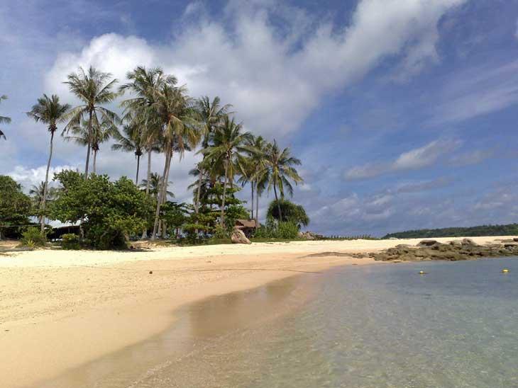 Koh Bon or Bon Island in Phuket.