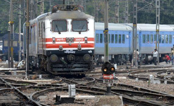 Indian Semi High Speed Train.