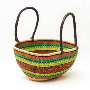 Oval Shopper Large Basket