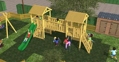 3D playground design and visualisation service