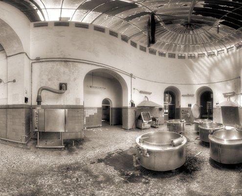 ospedale psichiatrico di maggiano le cucine a 360