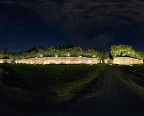 le mura di lucca baluardo cairoli
