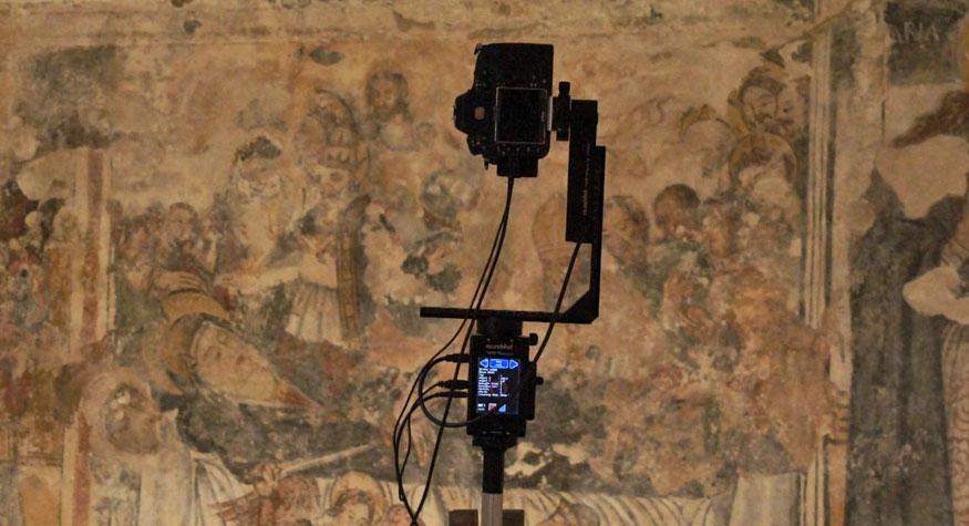 madonna del gonfalone panoramica 360 civiltà rupestre puglia e basilicata