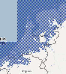 Flood map of The Netherlands