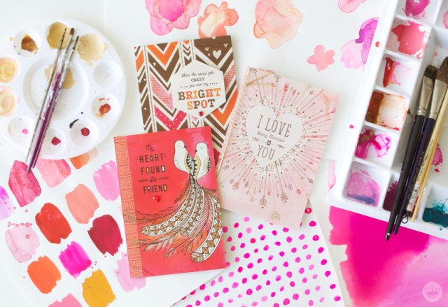 A creative couple's Valentine's Day collection | thinkmakeshareblog.com