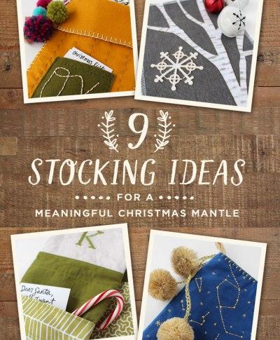 9 Stocking Ideas | thinkmakeshareblog.com