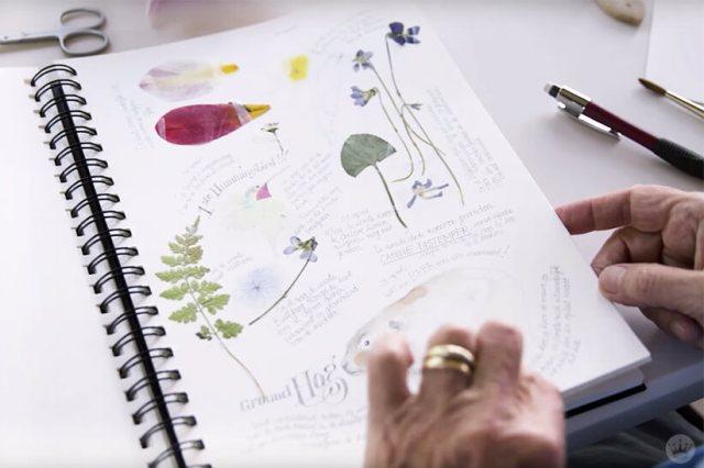 Marjolein Bastin's nature diary