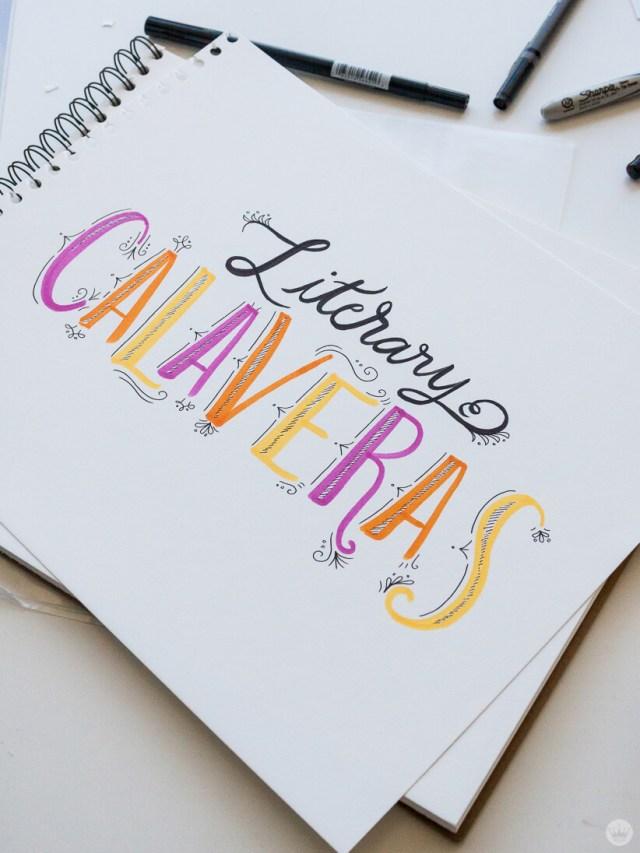 Calaveras Literarias | thinkmakeshareblog.com