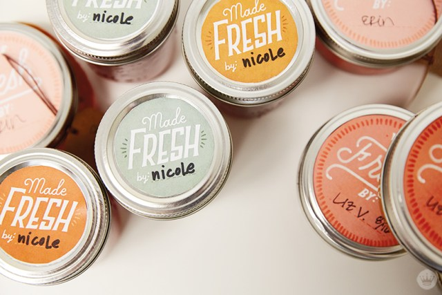"Canned veggies with ""Made Fresh"" labels 
