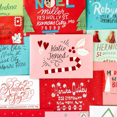 Christmas Card Challenge | thinkmakeshareblog.com