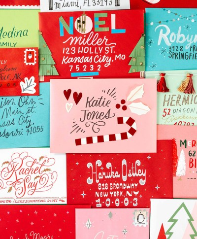Christmas Card Challenge | thinkmakeshareblog.com