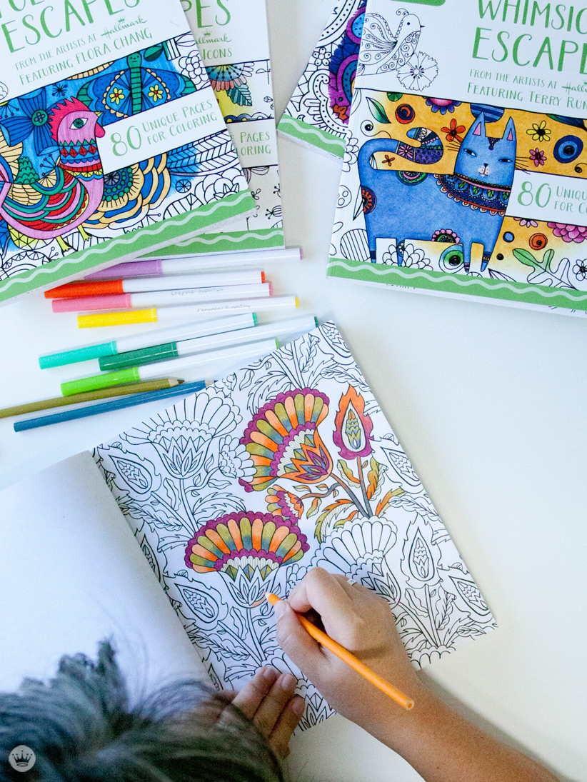 Four new coloring books from Hallmark and Crayola - Think ...