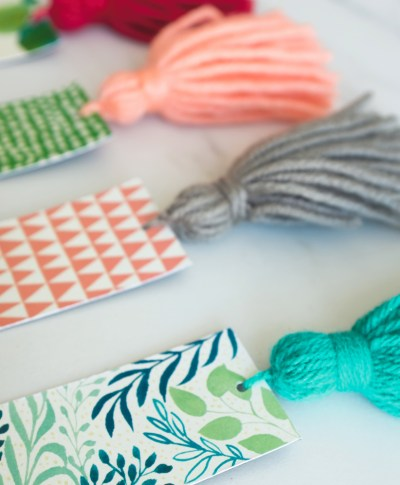 DIY Bookmarks | thinkmakeshareblog.com