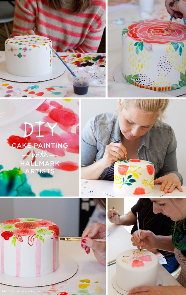 Decorated Cakes from Hallmark Artists | Think.Make.Share