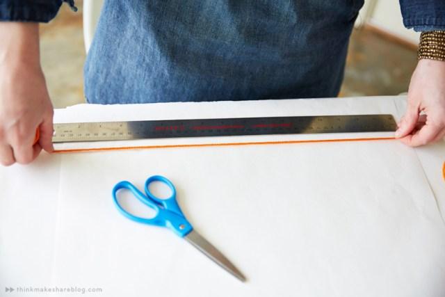 DIY Mini Macrame Hanger | thinkmakeshareblog.com