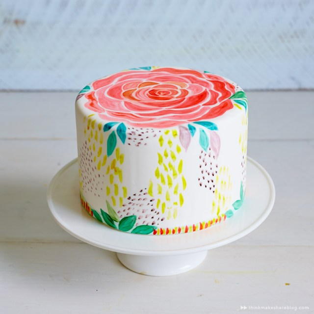 Decorated Cake from Hallmark Artists | Think.Make.Share blog