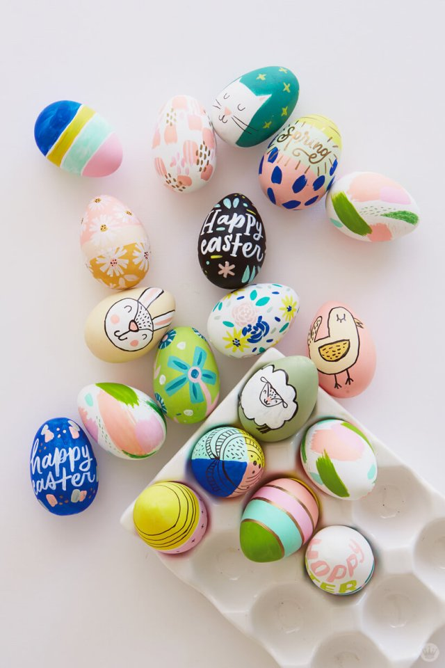 2018 Easter Egg Decorating Ideas From Designers And Illustrators