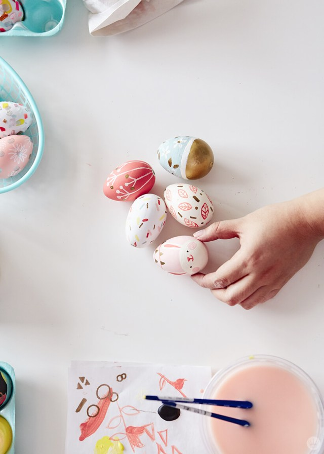 2019 Easter egg decorating ideas: Painted eggs